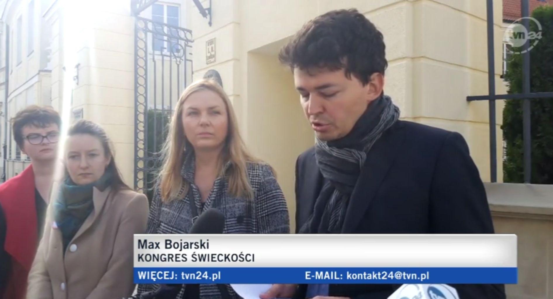 MAx Bojarski Kongres Świeckości