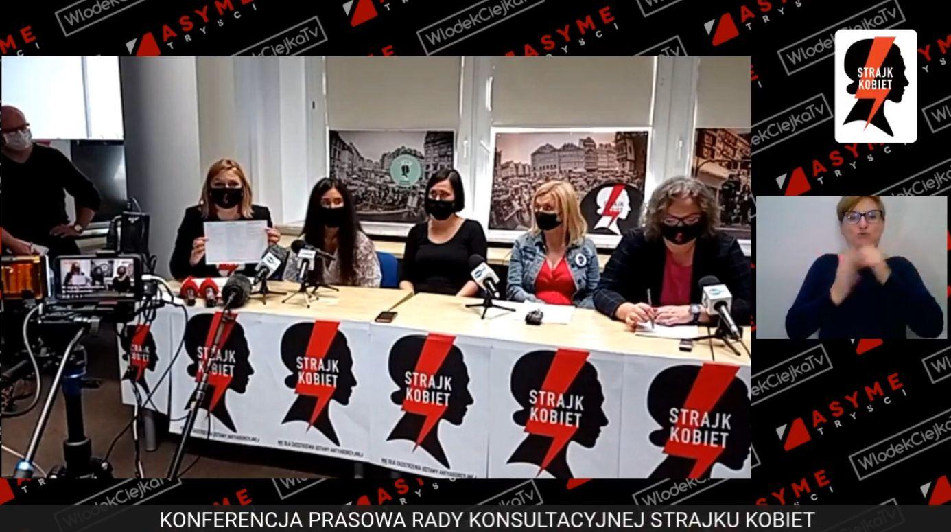 Strajk Kobiet zgłasza nasze postulaty